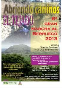 cartel El Tejado 2013